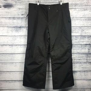 NWOT Slalom Insulated Black Fleet / Ski Pants 1X